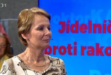 Naše lektorka v České televizi